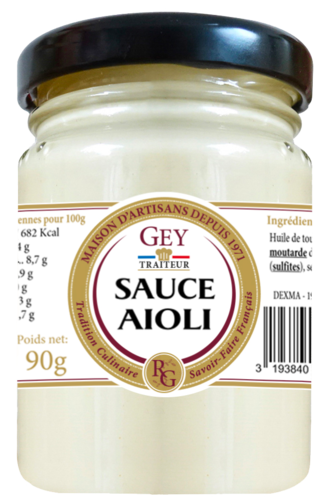SAUCE FROIDE AIOLI 90GR